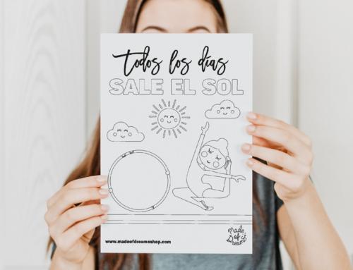 Dibujo TODOS LOS DÍAS SALE EL SOL #yoentrenoencasa